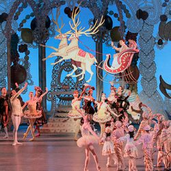 New York City Ballet in George Balanchine's The Nutcracker. Photo Credit Paul Kolnik