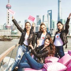 Victoria's Secretファッションショー、上海で開催