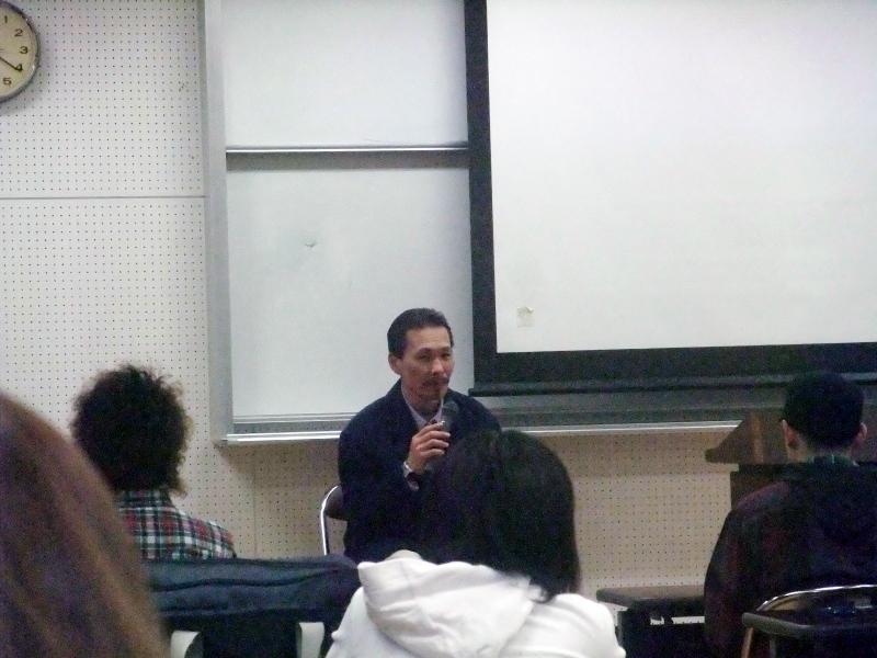 東京都立南葛飾高校での特別授業(提供写真)