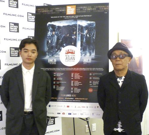染谷将太さん(左)と廣木隆一監督