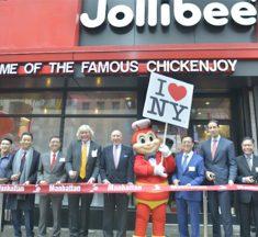 「ジョリビー」がタイムズスクエアに旗艦店をオープン